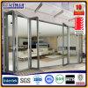 Porte se pliante en aluminium en aluminium de Nana de porte de tissu pour rideaux de porte de pliage
