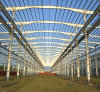 Stahlkonstruktion-Aufbau-Fertigrahmen-Werkstatt