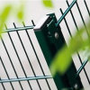 Galvanized Backyard Boundary and Anti Intruder Twin Wire Mesh Fence