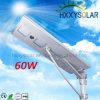 Водоустойчивый интегрированный солнечный уличный свет IP65 60W