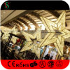 Het Hangen van Kerstmis van de douane de Commerciële Grote Lichten van de Ster voor Winkelcomplex