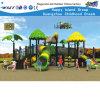 Das crianças ao ar livre do campo de jogos dos parques equipamento plástico da corrediça (HD-FY2801)
