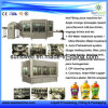 3 em 1 Rinsing Flling Capping Red Bull, Juicer Production Line Machinery