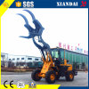 Farming Machine 1.6ton Wheel Loader with Log Grabber Xd918f