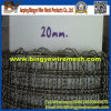 20 millimetri Aperture Stainless Steel Crimped Wire Mesh