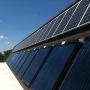 Collecteur thermique solaire fendu