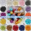 Talons desserrés d'entretoise ronde acrylique en gros de perle 4mm/6mm/8mm/10mm/12mm/14mm/16mm/18mm/20mm/25mm/30mm/40mm