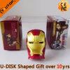 Förderung-Geschenk-kreativer Eisen-Mann USB-grelle Platte (YT-3710)