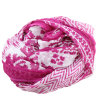 관례는 100%년 뽕나무 실크 시퐁 주름 여자 스카프를 인쇄했다 (AMA170609-7)