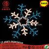 Luz de la Navidad colgante impermeable decorativa del copo de nieve IP65 del LED para la decoración del día de fiesta