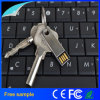 USB impermeável 128GB chave do aço inoxidável