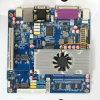 Fanless Intel N550 Bildschirmanzeige des Motherboard-VGA+Lvds und einzelne verdoppeln Bildschirmanzeige-unterstützendes Motherboard (top525)