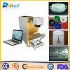 Нержавеющая сталь маркировки лазера волокна сбывания 20W/пластичные крышка/крышка/металл