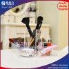 Bandeja de almacenamiento de accesorios de acrílico con pincel de maquillaje Holder