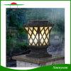 Luz solar impermeable de la pared de la lámpara del pilar de la instalación fácil artística del diseño