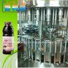 Máquina de rellenar del jugo fresco automático de la botella de cristal
