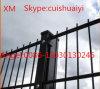 Frontière de sécurité enduite de treillis métallique de poudre de 868 garanties double/frontière de sécurité de fil jumelle