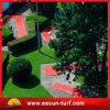 庭の景色の総合的な人工的な草のための緑の泥炭