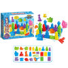 A areia colorida do jogo dos brinquedos das crianças brinca o brinquedo de DIY (H8256017)
