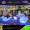 Mobilier d'extérieur illuminé Multicolor Changing Plastic LED Light Up Furniture