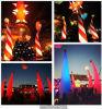 kegel van de Hoogte van 3m de Opblaasbare Lichte voor de Decoratie van Kerstmis en van de Gebeurtenis