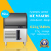 60kg het Met alle accomodatie Portable Ijsblokje van Delux Machine voor Sale