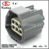 6 cables connecteur imperméables à l'eau automobiles électriques femelles de Pin/voie