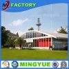 곡선 모양 PVC 투명한 지붕 큰천막 당 결혼식 천막을 조립하게 쉬운