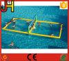 Corte de voleibol inflable del agua para la venta