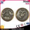 Монетка возможности сувенира 3D античная латунная с краем веревочки