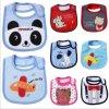 かわいい動物の綿の赤ん坊の胸当ての赤ん坊の衣類