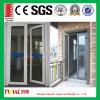 熱-絶縁アルミニウム開き窓のドア