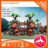 Campo de jogos ao ar livre das crianças plásticas do jardim de infância para a venda