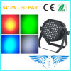 54PCS 3W RGBW Waterproof LED PAR Effect Light