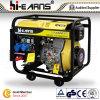 Diesel Welding Generator met Big Wheels en Handles (DG6000EW)