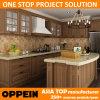 Oppein 고전적인 호두 PP 프로젝트 부엌 찬장 가구 (OP14-PP01)