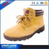 Ботинки безопасности пальца ноги отрезока середины резиновый стальные сделанные в Китае