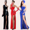 2015 Form-Schulter-Abend-Kleid