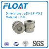 Boule en acier inoxydable Float Magnetic Ball for Floating Niveau d'eau Switch (25mm * 25mm * 9.5mm)
