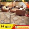 Tintenstrahl glasig-glänzende Fußboden-Fliese des Porzellan-5D (5D412)