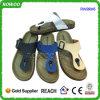 Sandalias clásicas al por mayor del corcho del hombre de las T-Correas del verano (RW29045B)
