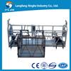 Plataforma Zlp630/800 de aço galvanizada da limpeza de indicador do edifício do MERGULHO quente