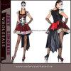 Costume di scheletro di Halloween del vestito operato delle donne adulte teatrali del partito (TLQZ6877)