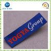 Het Gouden Hoge Embleem van de douane - de Geweven Etiketten van de dichtheid Polyester voor Kleding (JP-CL149)