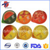Impresso & Embossed Die Cut Foil Sealing Lids para Fruit Juice
