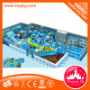 Juguete travieso de interior del plástico del castillo del área de juego de niños