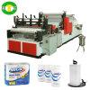 Rewinder que perfura a toalha de cozinha do tecido do rolo que faz o preço da máquina