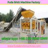 Chaîne de production solide et enclenchante creuse concrète semi automatique de bloc