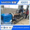 Линия автомат для резки пересечения CNC трубы металла плазмы