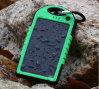 FCC солнечное водоустойчивое Powerbank 5000mAh RoHS CE приспособленное для Samsung LG HTC